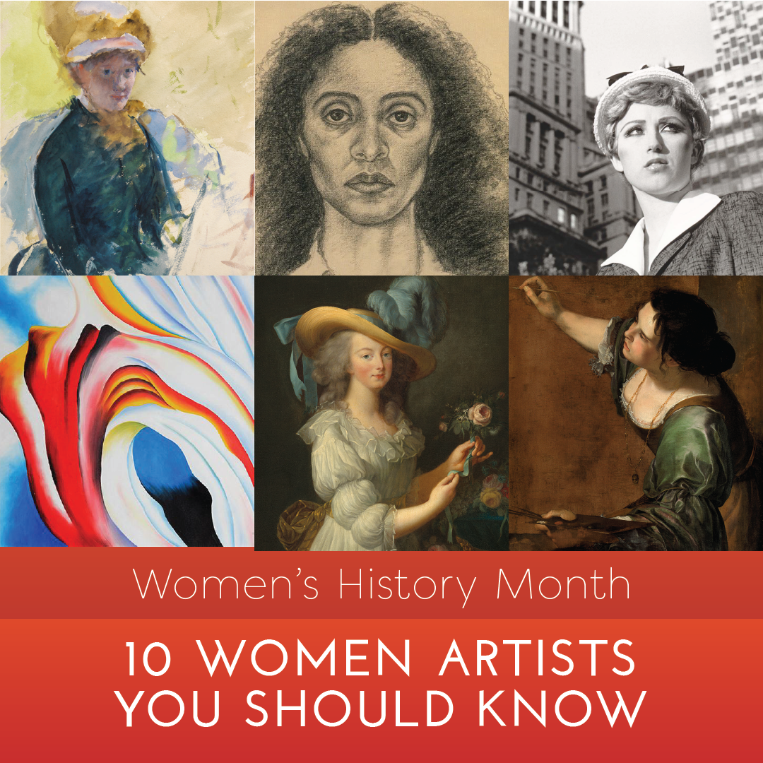 Women's History Month: 10 Women Artists You Should Know