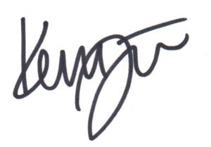Kerry Falwell signature