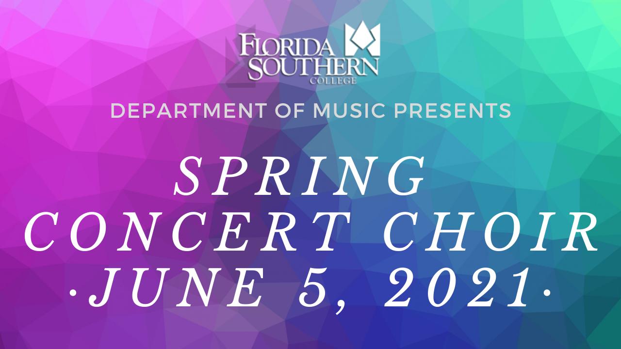 Virtual Spring Choir Concert